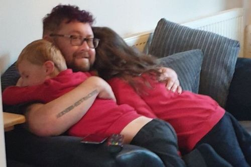 Dad dies after collapsing at Man v Fat football match