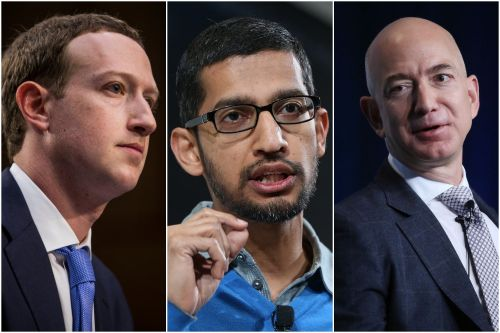 This chart shows just how much Facebook, Google and Amazon dominate the digital economy