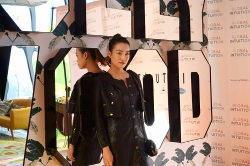 Entrepreneur & Multimedia Artist YiZhou Debuts Inspiring New Collection at Fred Segal