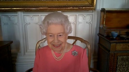 'It Didn't Hurt At All': The Queen Urges Vaccine Hesitant To Get The Jab