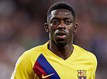 Barcelona news: Ousmane Dembele will 'remain in Spain 1000%,' says his agent