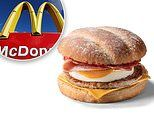 McDonald's launches new breakfast roll in the UK from Wednesday