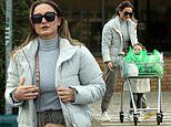 Sam Faiers steps out for the FIRST time since breaking travel rules