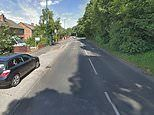 Police hunt robber who held knife to BABY'S throat