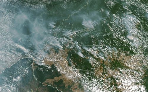 Record 84 per cent yearly increase in Amazon fires blamed on deforestation in Brazil