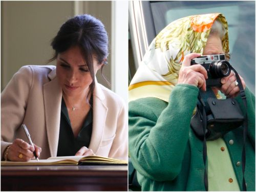 Hidden talents of members of the royal family, from the Queen's photography to Meghan Markle's calligraphy