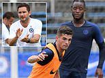 Chelsea news: Frank Lampard admits he's unsure how close Callum Hudson-Odoi is to signing new deal