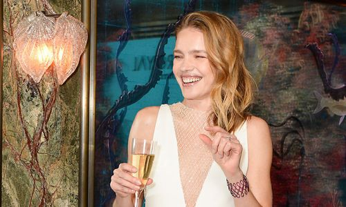 Natalia Vodianova's couture wedding dress was totally unexpected