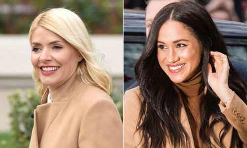 Holly Willoughby channels Meghan Markle in her favourite skirt on This Morning