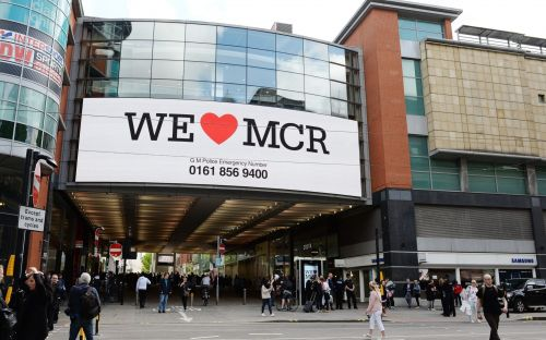 Police swoop after second security incident at Manchester shopping centre
