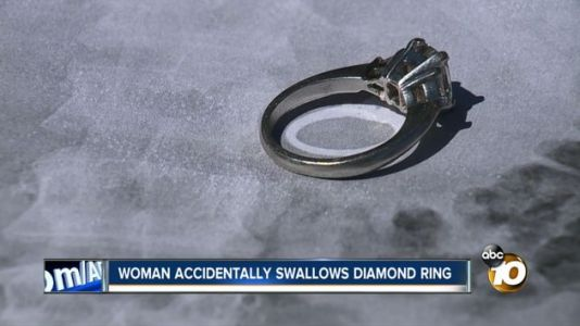 Woman Swallows Engagement Ring In Sleep Thinking It Was All A Dream
