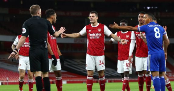 Arteta baffled by disallowed Arsenal goal; Rodgers revels in Leicester win