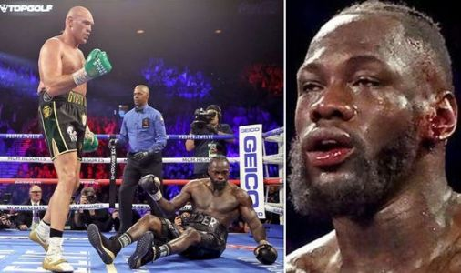 Deontay Wilder explains why ear had to be stitched up after Tyson Fury knockout loss