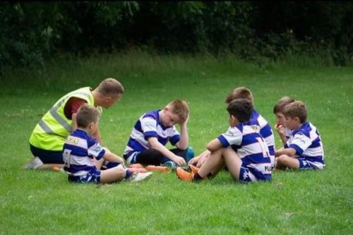 Luke Robinson on coaching under-6s hours after taking charge in Super League