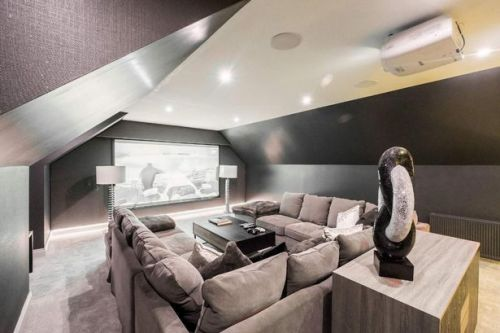 Luxury Scots home that has state-of-the-art cinema room goes up for sale