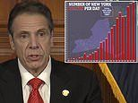 New York has record number of coronavirus deaths for a third day with 799 dying in 24 hours