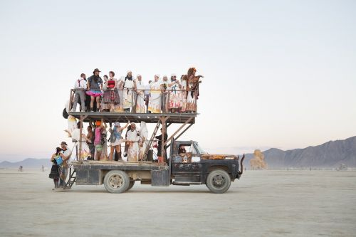 12 of the most extraordinary, never-before-seen photos from the past 10 years of Burning Man