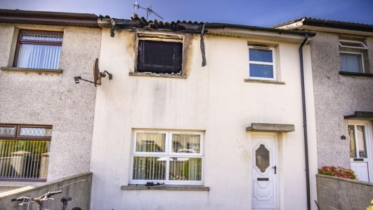 Generosity of public hailed as nearly £15k raised in a day for Matchett family who lost Co Down home in blaze