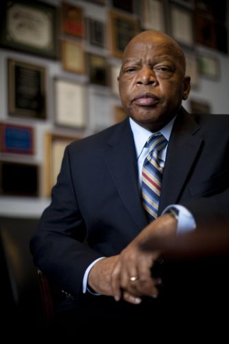 Civil rights icon John Lewis 'still with us' after Congresswoman said he had died at 80