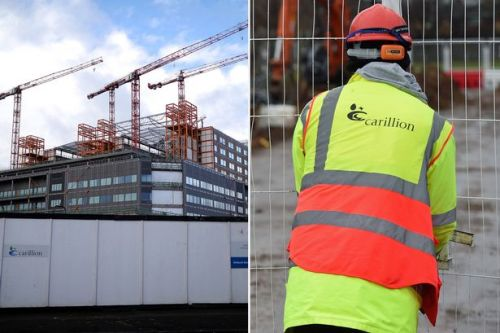 Two hospitals left in lurch by Carillion to be 5 years late and £600m over budget