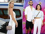MAFS' Martha Kalifatidis and Michael Brunelli lead the celebrity arrivals at the Magnum Luxe Launch
