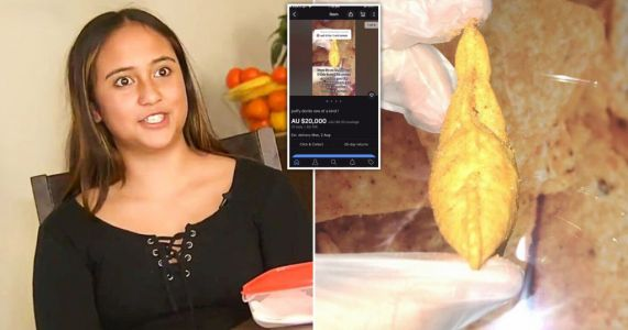 Teenager gets offered £10,000 by Doritos for finding rare puffy crisp