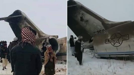 US military plane crashes in Taliban-controlled Afghanistan territory