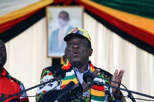 Zimbabwe President Survives Apparent Bomb Attack At Campaign Rally