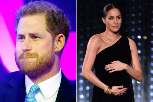 Prince Harry breaks down on stage as he remembers Meghan Markle's pregnancy