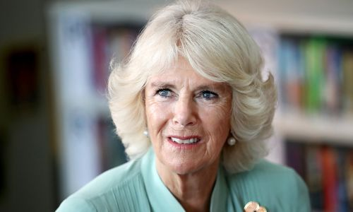 The Duchess of Cornwall is asked if she'll miss Prince Harry and Meghan Markle: see her response
