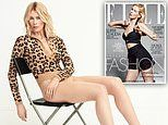 Claudia Schiffer, 49, reflects on her 30-year career as she dazzles in stunning shoot for ELLE UK