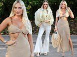 TOWIE's Amber Turner and Chloe Sims bring the glamour as they film garden party scenes