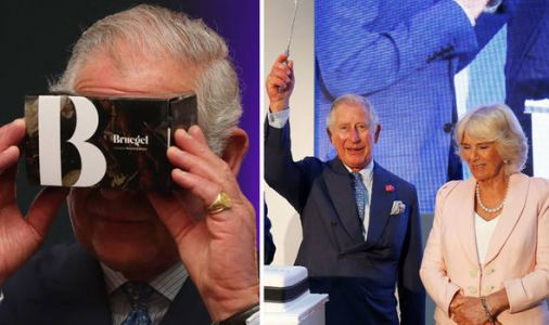 What royal wedding drama? Prince Charles and Camilla learn to code at Google