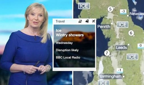 BBC UK weather forecast: 'Severe' ICE to cause TRAVEL DISRUPTIONS as temperatures nosedive