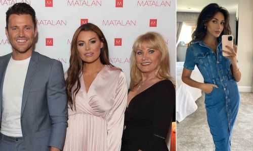 Mark Wright's mum and sister just showed their love for Michelle Keegan in the sweetest way