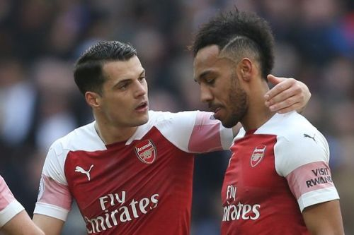 Granit Xhaka 'leading player revolt' as Arsenal close to Aubameyang deal