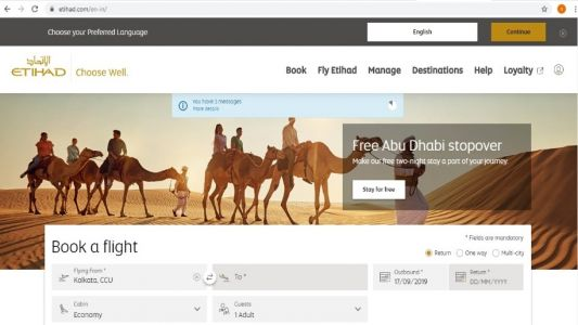Etihad revamps website as part of ongoing digital transformation