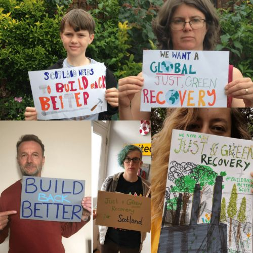 No going back - the fight for a just, green recovery