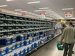 The two new items shoppers are coronavirus panic-buying as toilet paper returns to the shelves