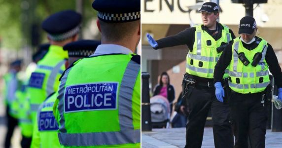 Police Taser man who coughed on them claiming he had coronavirus