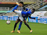Yves Bissouma challenge compared to a wrestling move as he's sent off for backward kick in the FACE