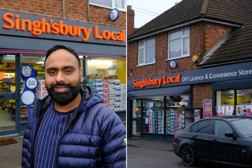 Man opens Singh'sbury Local - and says resemblance to supermarket is coincidence