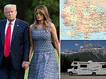 'I'm going to buy an RV and travel with the First lady!' Donald Trump jokes