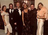 Kate Moss, Sadie Frost and David Gardner travel back in time for WILD night on the Orient Express