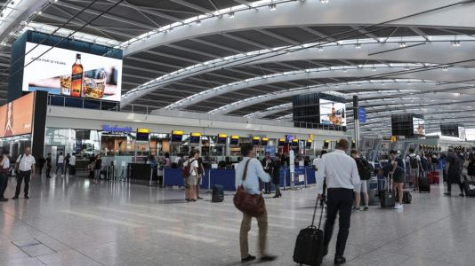 Heathrow's July traffic down nearly 90 per cent
