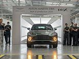 First DBX rolls off Aston Martin's Welsh St Athan production line