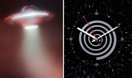UFO sightings could be future HUMANS who have conquered time travel - shock claim