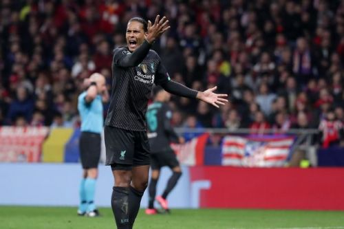 Virgil van Dijk blasted by Ruud Gullit for 'nightmare' performance in Atletico Madrid loss