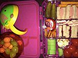 Australian mum criticised for packing 'choking hazard' grapes and tomatoes in toddler's lunchbox