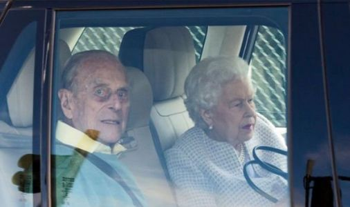 Queen and Philip seen out of Windsor for first time since COVID as pair travel to Scotland